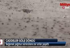 Şanlıurfa'da sağanak yağış sürücülere zor anlar yaşattı