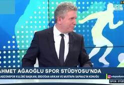 Ahmet Ağaoğlundan Aziz Yıldırıma canlı yayında gönderme