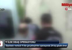 11 ilde DEAŞ operasyonu