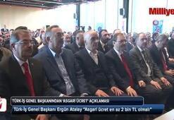 Türk-iş genel başkanından 'asgari ücret' açıklaması geldi
