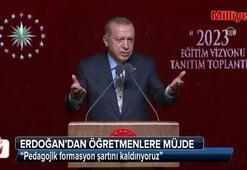 Cumhurbaşkanı Erdoğandan öğretmenlere müjde