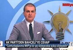 AK Partiden Bahçeliye cevap