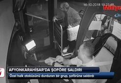 Halk otobüsünü durdurup dehşeti yaşattılar