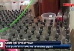 Polislerin sahte içki operasyonu nefes kesti