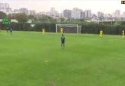 Michael Frey Fenerbahçe formasıyla ilk golünü attı