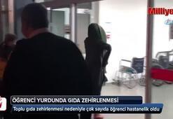Bursada öğrenci yurdunda panik 17 öğrenci hastanelik oldu