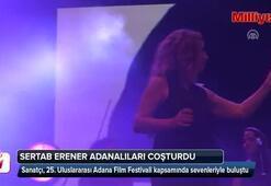Sertab Erener Adanalıları çoşturdu