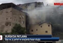 Bursada patlama