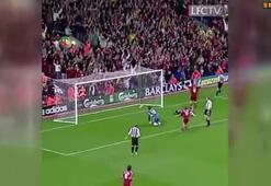 Dirk Kuytın Liverpooldaki ilk golü