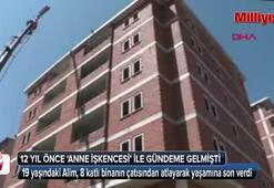 Erzurumda psikolojik sorunları olduğu iddia edilen çocuk intihar etti