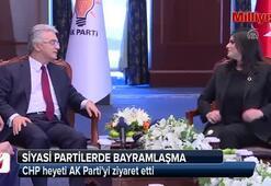 CHP heyeti AK Partiyi ziyaret etti