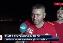 Kırıkkale'deki yangın söndürüldü