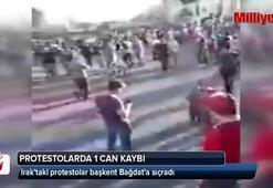 Iraktaki protestolar başkent Bağdata sıçradı