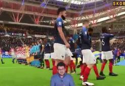 Skorer ile Sanal Dünya Kupası | Fransa-Hırvatistan