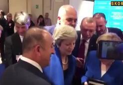 İngiltere Başbakanı Theresa Maye Erdoğandan teselli...