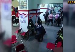Hırvat itfaiyeciler sosyal medyanın gündeminde