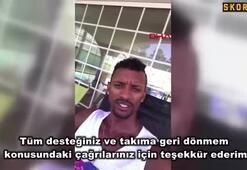 Naniden Fenerbahçe taraftarına eve dönüş mesajı
