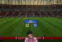 Skorer ile Sanal Dünya Kupası | Rusya - Hırvatistan