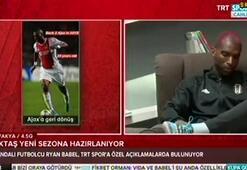 Ryan Babel: Beşiktaştan ayrılmak gibi bir niyetim yok
