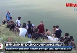 Dicle nehrinde iki çocuk boğuldu