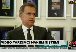 UEFA Başkanı Aleksander Ceferin Türk Futbolunu değerlendirdi