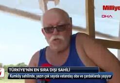 Türkiyenin en sıra dışı sahili