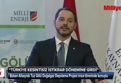 Enerji Bakanı Berat Albayrak: Yeni bir dönem başlıyor