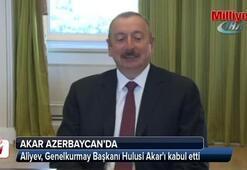 Aliyev, Genelkurmay Başkanı Akarı kabul etti
