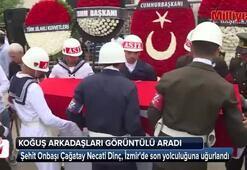 Şehit Piyade Onbaşı Çağatay Necati Dinç, son yolculuğuna ağırlandı