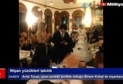 Arda-Sinem çifti nişanlandı