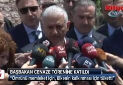 Başbakan Yıldırım Erdoğan Demirörenin cenazesine katıldı