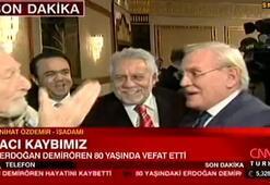 Nihat Özdemir: Erdoğan Demirören bizlere yol gösteren bir ağabeyimizdi...