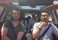 Survivor Takside gerginlik Araba içinde bir anda tartışmaya başladılar