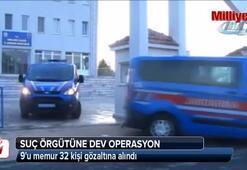 Kırklareli'nde suç örgütüne dev operasyon