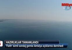 Türkiyenin doğalgaz ve petrol arama gemisi Akdeniz'de