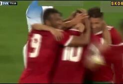 Younes Belhandadan harika gol