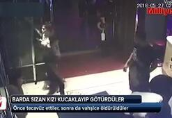 Barda sızan kıza tecavüz edip öldürdüler