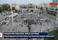 Taksim Meydanında birlik sofrası