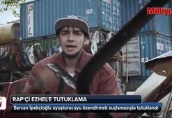 Repçi Ezhel, uyuşturucuyu özendirmekten tutuklandı