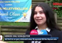 AK Partinin en genç adayı