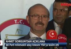 AK Parti aday listesi YSKya sundu