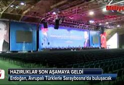 Cumhurbaşkanı Erdoğan, Avrupalı Türklerle buluşuyor