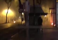 AEK ve PAOK taraftarları polise saldırdı