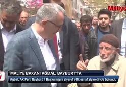 Maliye Bakanı Ağbal, Bayburtta ziyaretlerde bulundu