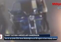 İzmiri soyan hırsızlar güvenlik kamerasında