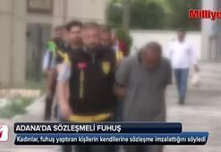 Adanada sözleşmeli fuhuş