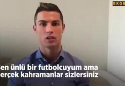 Ronaldodan Suriyeye destek