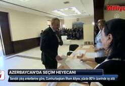 Aliyev, yüzde 80in üzerinde oy alarak seçimi kazandı