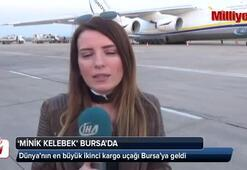 Dev kargo uçağı Bursa'da
