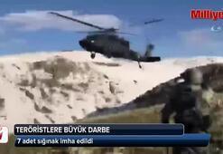 Teröristlerin kış üslenme alanlarına yönelik operasyon